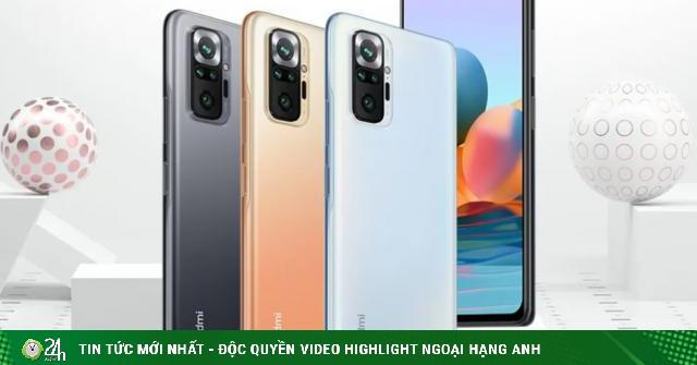 Redmi Note 10 series ra mắt: Thông số cấu hình và giá bán