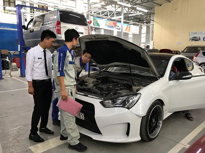 Hyundai Lê Văn Lương khuyến mãi dịch vụ tháng 3 - 2
