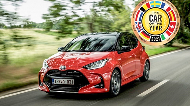 Toyota Yaris đạt giải thưởng Xe của năm 2021 tại châu Âu - 1