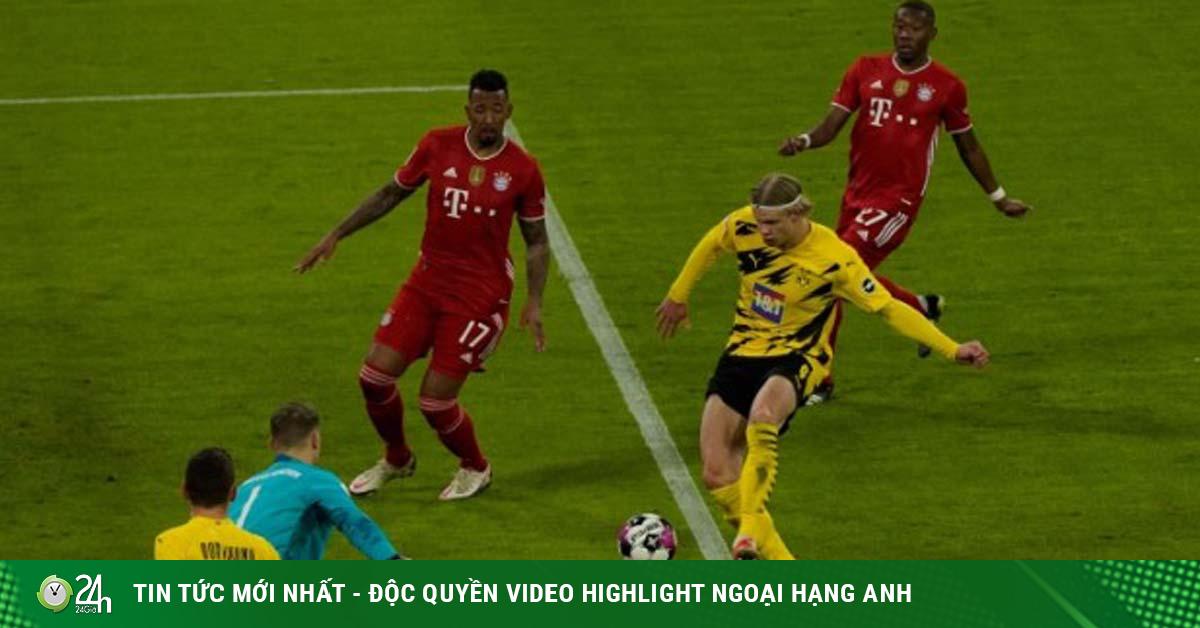 Video Bayern Munich - Dortmund: Lewandowski che mờ Haaland, mãn nhãn 6 bàn