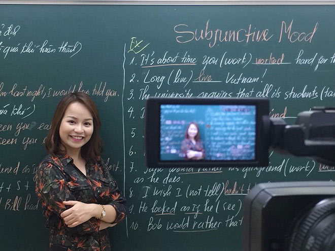 Cô giáo trẻ dạy tiếng Anh với khát vọng sáng tạo và lối dạy tư duy hiện đại - 2