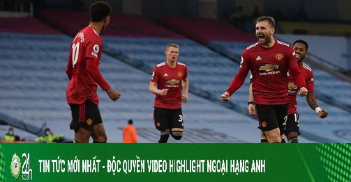 Nóng rực BXH Ngoại hạng Anh: MU kéo sập Etihad, còn cửa đua vô địch với Man City?