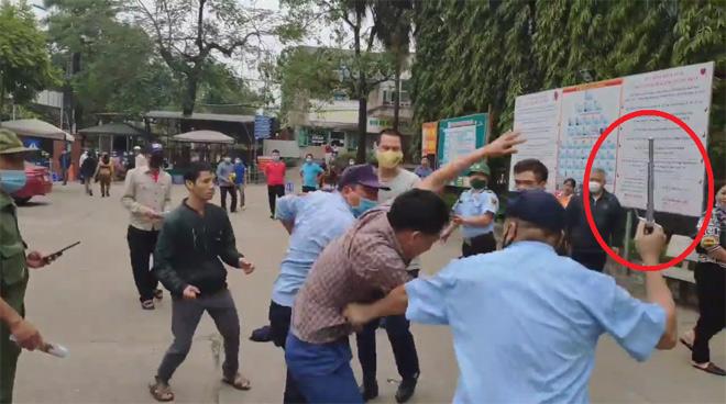 """Thông tin mới vụ bảo vệ Bệnh viện Đa khoa Tuyên Quang """"hỗn chiến"""" với người nhà bệnh nhân - 1"""