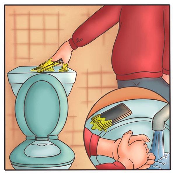 Mang điện thoại vào nhà vệ sinh: Hành động tưởng bình thường nhưng ẩn chứa hiểm họa khôn lường - 1