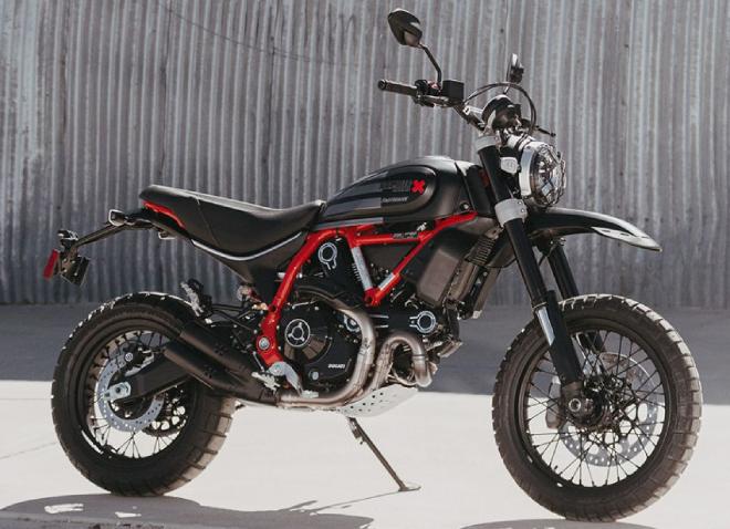 2021 Ducati Scrambler có bản chạy sa mạc cực ngầu - 1