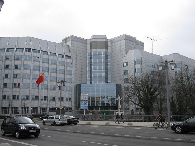 Đại sứ quán Trung Quốc ở Berlin bị tấn công