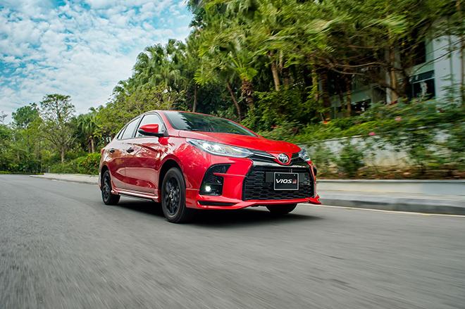 Đánh giá nhanh Toyota Vios 2021 phiên bản thể thao GR-S - 1