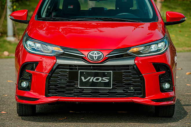 Đánh giá nhanh Toyota Vios 2021 phiên bản thể thao GR-S - 2