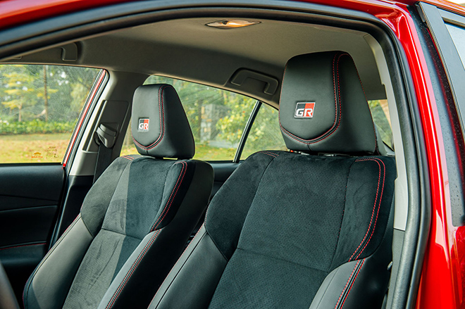 Đánh giá nhanh Toyota Vios 2021 phiên bản thể thao GR-S - 10