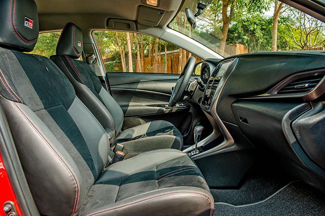 Đánh giá nhanh Toyota Vios 2021 phiên bản thể thao GR-S - 8