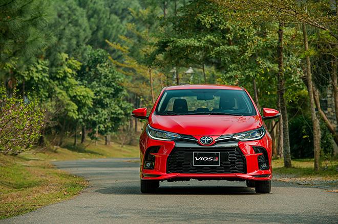 Đánh giá nhanh Toyota Vios 2021 phiên bản thể thao GR-S - 14