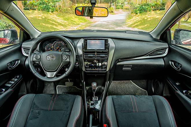 Đánh giá nhanh Toyota Vios 2021 phiên bản thể thao GR-S - 9