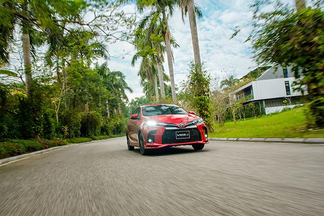 Đánh giá nhanh Toyota Vios 2021 phiên bản thể thao GR-S - 13