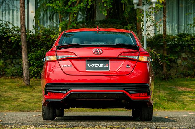 Đánh giá nhanh Toyota Vios 2021 phiên bản thể thao GR-S - 7