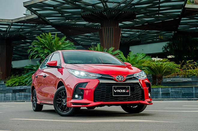 Đánh giá nhanh Toyota Vios 2021 phiên bản thể thao GR-S - 15