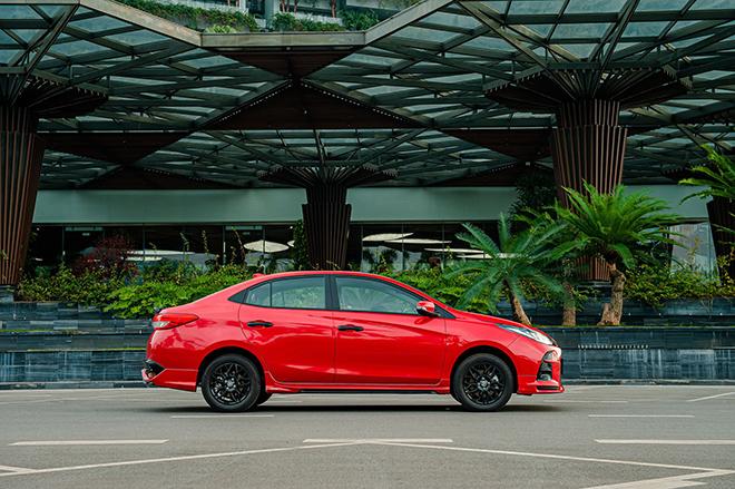 Đánh giá nhanh Toyota Vios 2021 phiên bản thể thao GR-S - 6