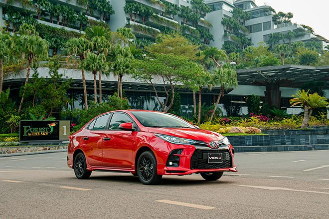 Đánh giá nhanh Toyota Vios 2021 phiên bản thể thao GR-S - 16