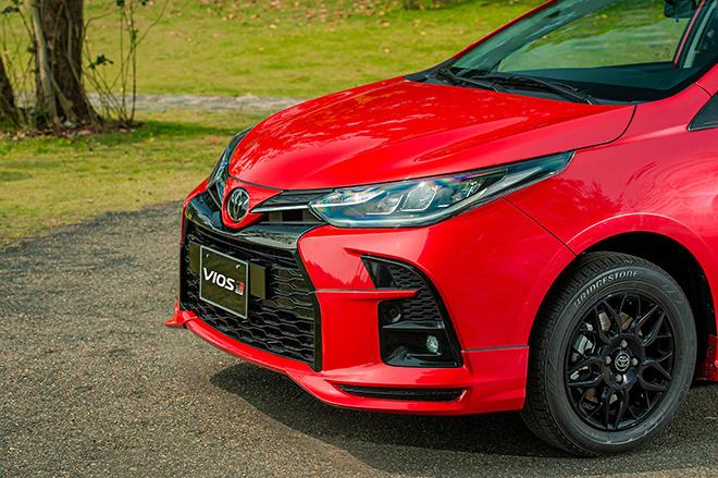 Đánh giá nhanh Toyota Vios 2021 phiên bản thể thao GR-S - 3