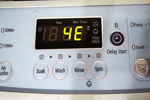 Mã lỗi máy giặt Samsung cửa ngang, cửa trên và cách khắc phục - 2