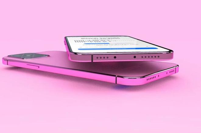 """iPhone 13 Pro """"lột xác"""" với concept màu hồng rực, iFan có chịu nổi nhiệt này? - 1"""