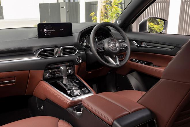 Mazda CX8 có thêm bản 6 chỗ tại một số thị trường - 7