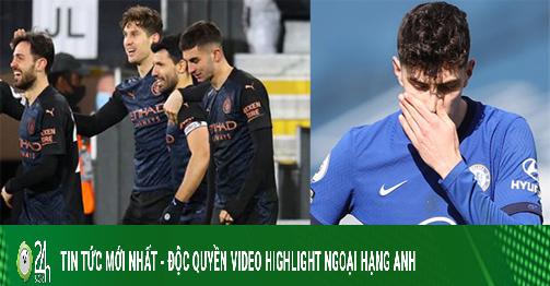Kịch tính BXH Ngoại hạng Anh: Man City băng băng về đích, top 4 nóng rực