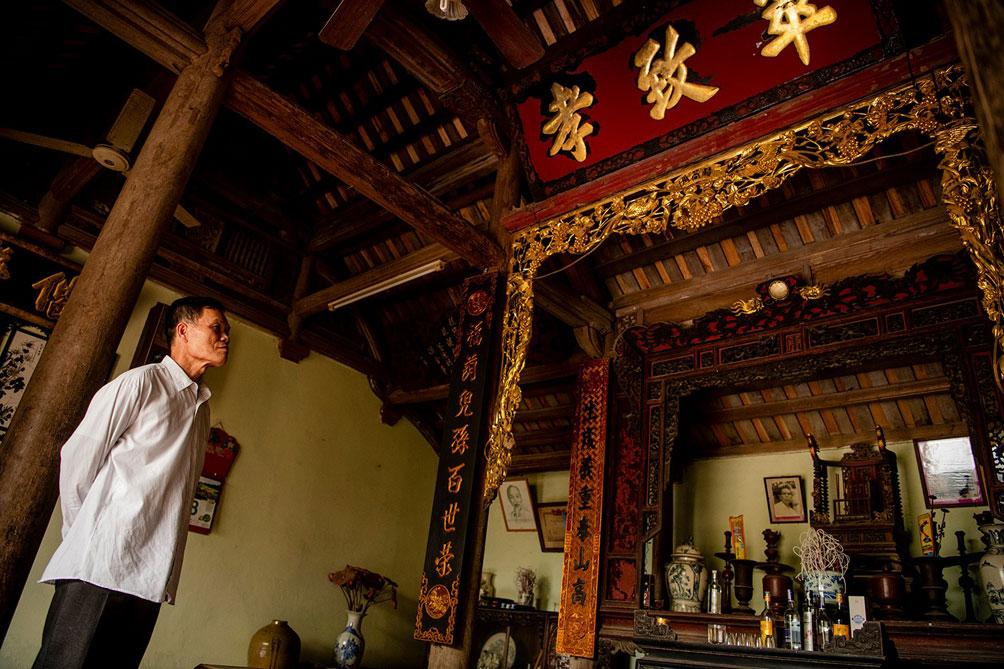Ngôi nhà cổ gần 200 tuổi chứa bảo vật dát vàng, giá nào cũng không bán - hình ảnh 18