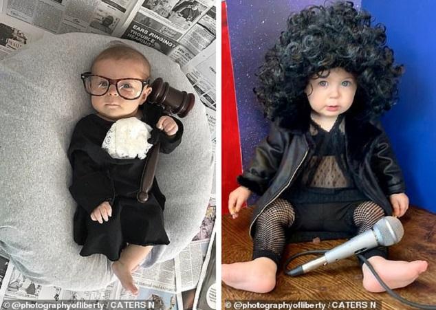 Người mẹ biến con gái 2 tuổi thành những nhân vật truyền cảm hứng - hình ảnh 2