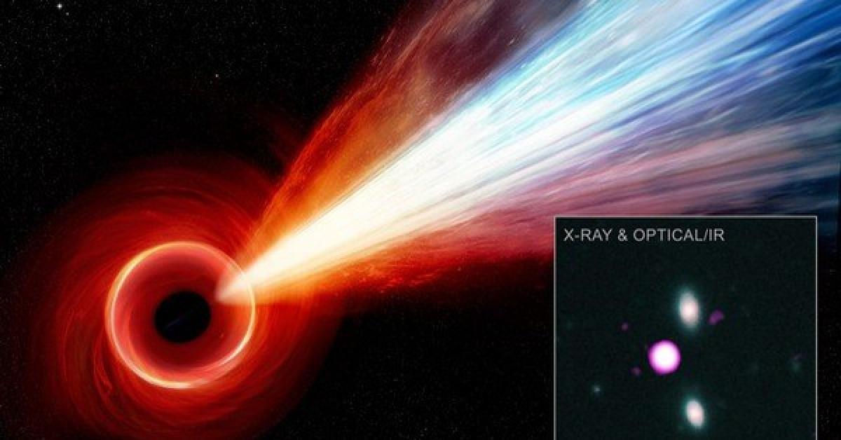 """Tàu vũ trụ bắt được tia sáng """"xuyên không"""" từ """"quái vật"""" 12,7 tỉ tuổi - 1"""