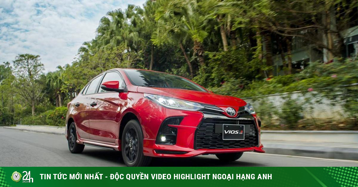 Toyota Vios giảm giá tại đại lý, đấu Hyundai Accent