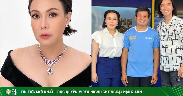 Tặng nóng ông Đoàn Ngọc Hải 1,7 tỷ mua xe cứu thương, Việt Hương giàu có cỡ nào?