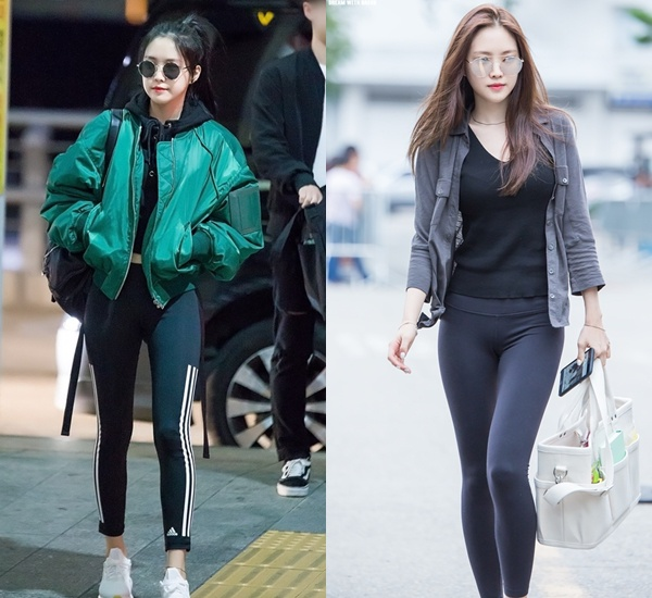 """Các chị đẹp Hàn Quốc thản nhiên ra đường với mốt quần bó chẽn bị liệt vào danh sách """"cấm"""" - hình ảnh 1"""