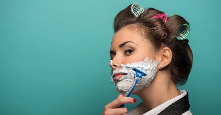 Phụ nữ có nên cạo lông mặt? - 1