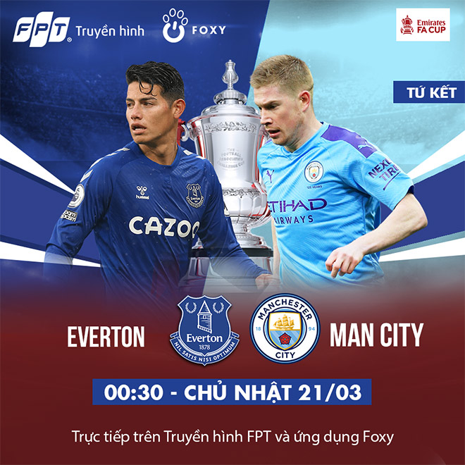 Tứ kết FA Cup: Everton - Manchester City, cuộc chiến một mất một còn! - 4
