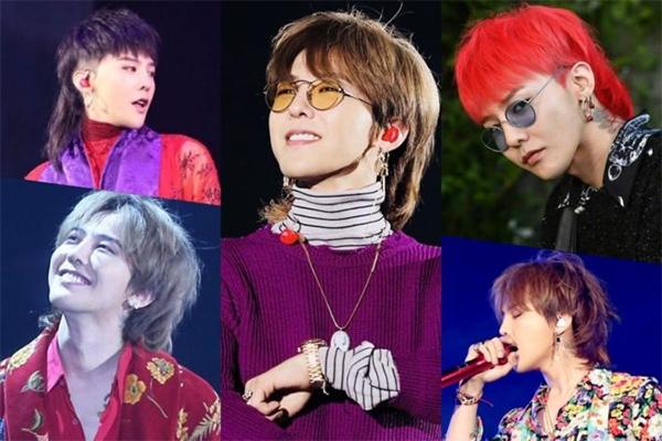 Những kiểu tóc G-Dragon cực ấn tượng cá tính và nổi bật hot nhất hiện nay - hình ảnh 7
