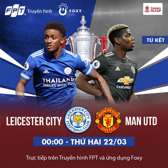 Tứ kết FA CUP: Leicester - Manchester United, Quỷ Đỏ đánh chiếm King Power? - 4