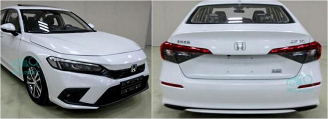 Honda Civic 2022 tiếp tục lộ ảnh thực tế, dự kiến ra mắt vào tháng sau - 2