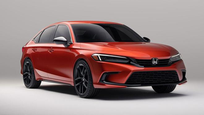 Honda Civic 2022 tiếp tục lộ ảnh thực tế, dự kiến ra mắt vào tháng sau - 4
