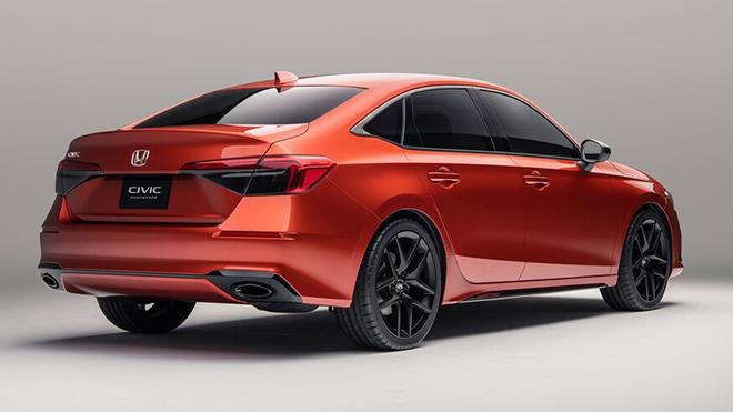Honda Civic 2022 tiếp tục lộ ảnh thực tế, dự kiến ra mắt vào tháng sau - 11