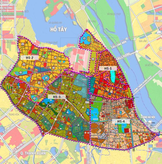 Hà Nội quy hoạch 4 quận nội đô lịch sử, 215.000 người cùng hàng chục cơ quan di dời - 2