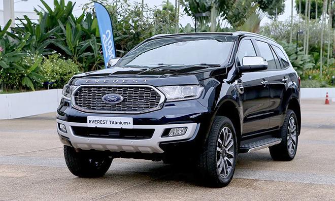 Ford Everest 2021 đang được đại lý giảm giá tới 80 triệu đồng - 1