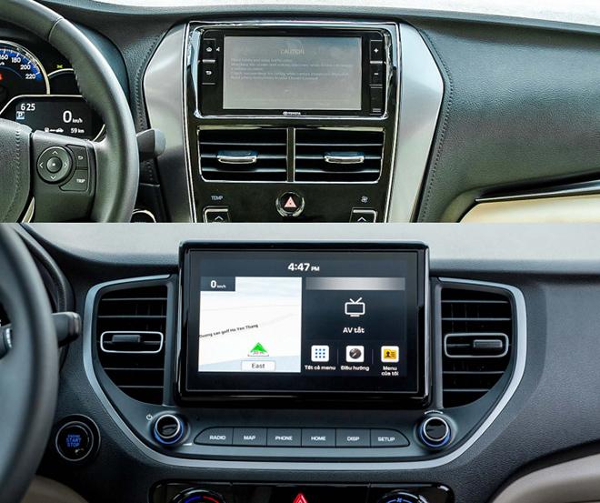 So sánh Toyota Vios và Hyundai Accent phiên bản nâng cấp, đâu là lựa chọn tốt - 11