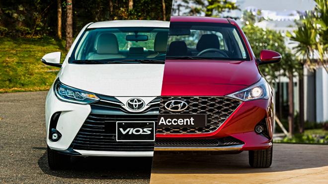 So sánh Toyota Vios và Hyundai Accent phiên bản nâng cấp, đâu là lựa chọn tốt - 2