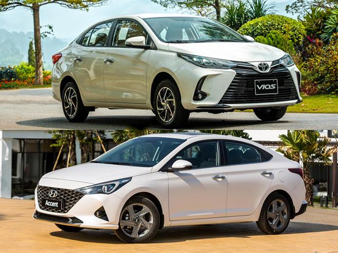 So sánh Toyota Vios và Hyundai Accent phiên bản nâng cấp, đâu là lựa chọn tốt - 1