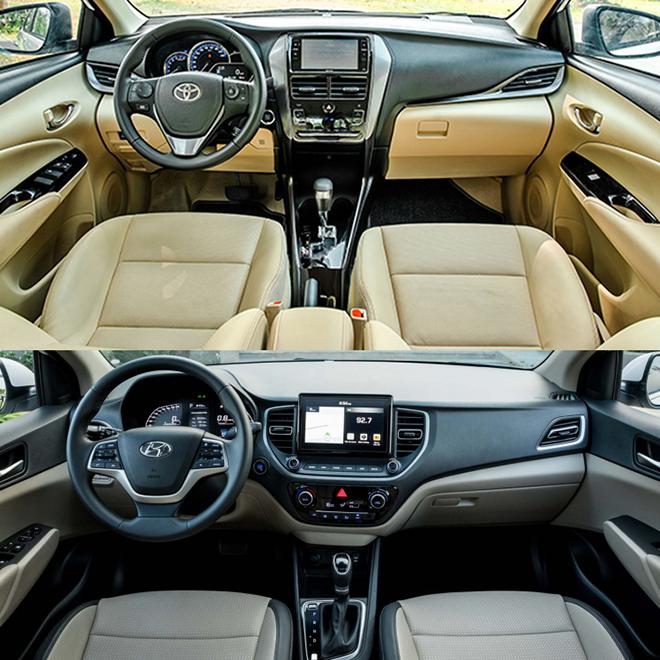 So sánh Toyota Vios và Hyundai Accent phiên bản nâng cấp, đâu là lựa chọn tốt - 9