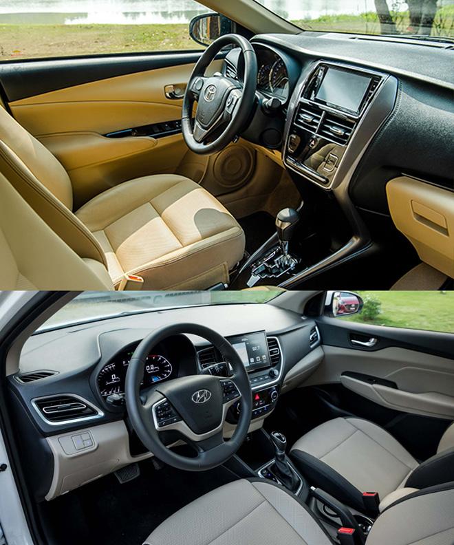 So sánh Toyota Vios và Hyundai Accent phiên bản nâng cấp, đâu là lựa chọn tốt - 10