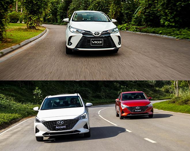 So sánh Toyota Vios và Hyundai Accent phiên bản nâng cấp, đâu là lựa chọn tốt - 12