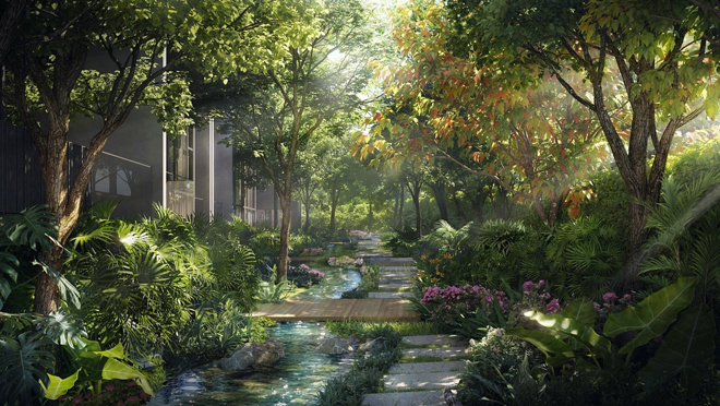 Thiên đường nghỉ dưỡng tựa Bali giữa lòng Ecopark - 3