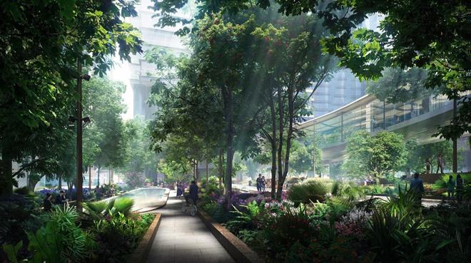 Thiên đường nghỉ dưỡng tựa Bali giữa lòng Ecopark - 4
