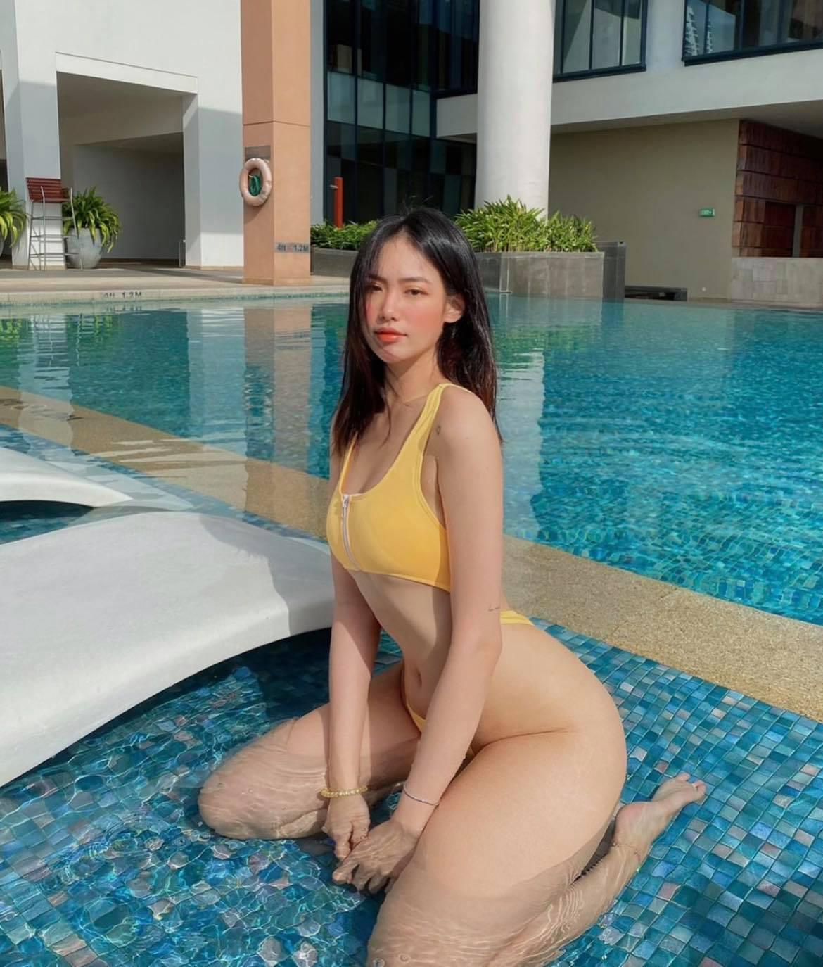 Hot girl phòng gym Nha Trang sở hữu vòng 3 tròn trịa đẹp mắt nhờ đâu? - hình ảnh 2
